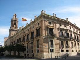 В центъра на Валенсия