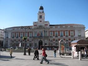Площад Пуерта дел Сол