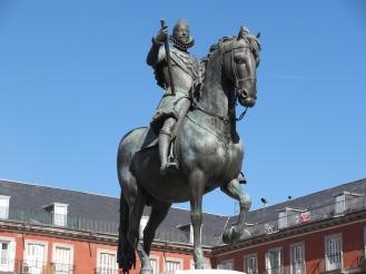 Бронзовата статуя на крал Филип III
