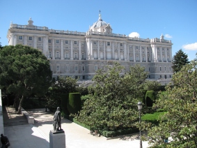 Кралски дворец в Мадрид