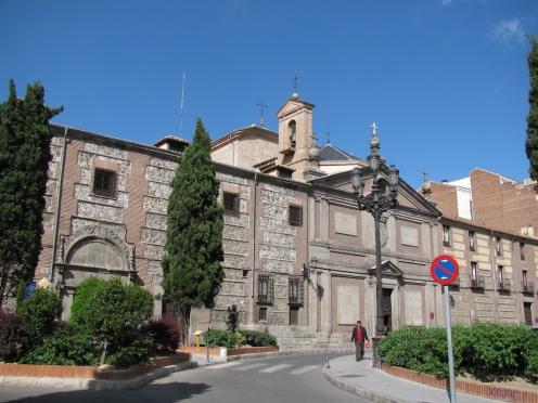 В старата част на Мадрид