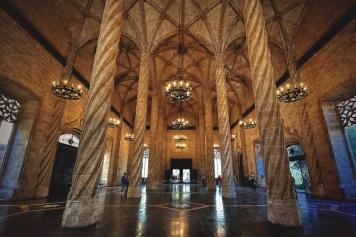 Ла Лоня – старата копринена борса