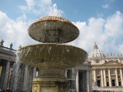 Фонтана на площад Свети Петър