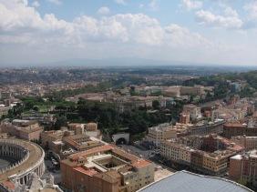 Панорама към Рим