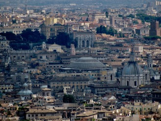 Гледка от купола на Свети Петър