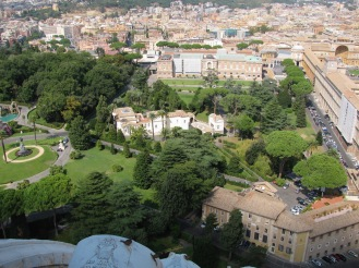 Ватиканските градини