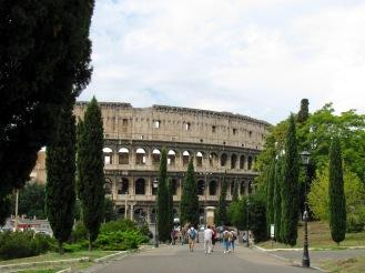 Оригиналното название на Колизеума е било Амфитеатърът на Флавий.