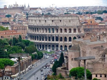 Колизеума е един от най-емблематичните символи на Древен Рим