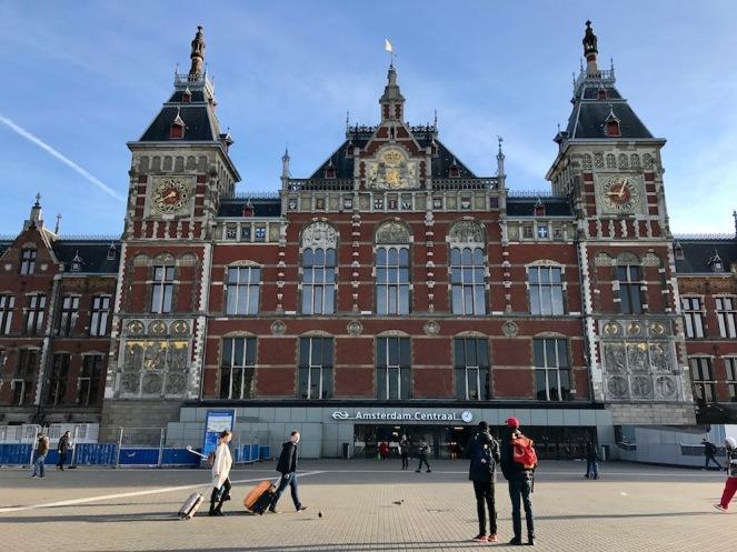 Централна гара Амстердам