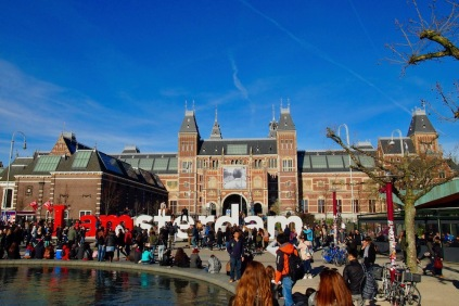 Знакът I amsterdam