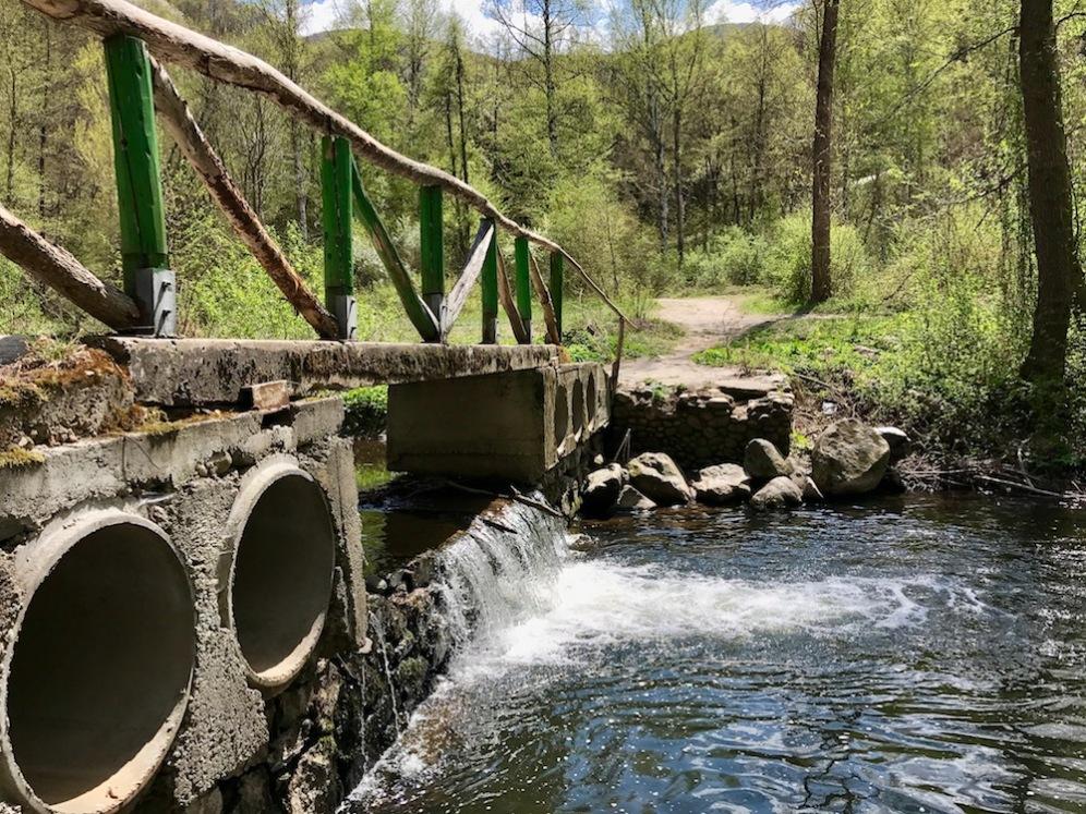 Моста към крепостта Урвич