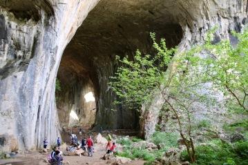 Входа на пещера Проходна