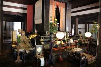 Интериора на храма Ганго-джи