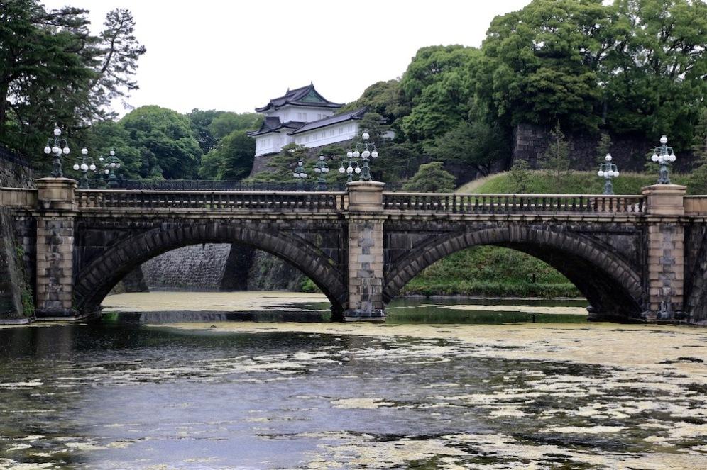 Императорския дворец в Токио