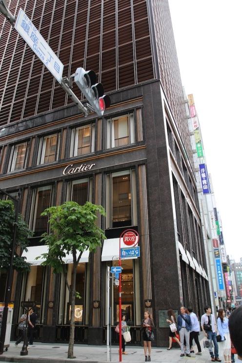 бул.Гинза, Токио