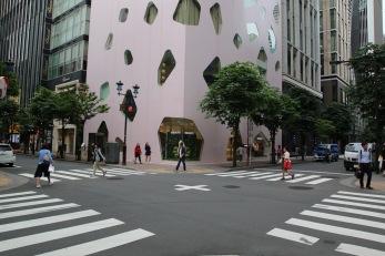 район Гинза, Токио