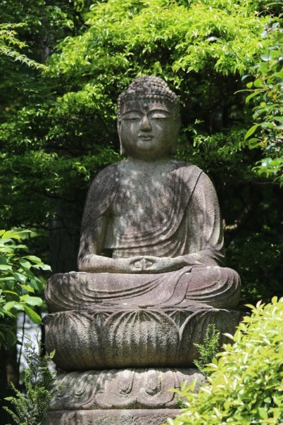 Буда в храма Рьоан-джи