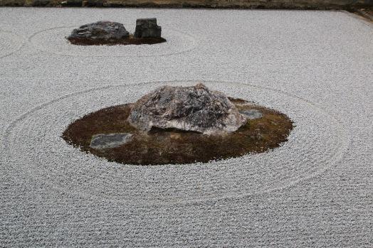 Камената градина в храма Рьоан-джи