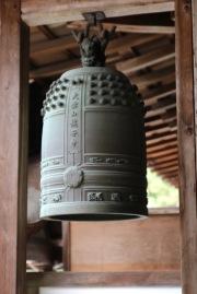 Японска камбана в храма Рьоан-джи