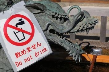 Не пийте водата от устата на дракона!