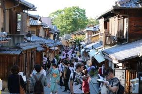 Из улиците на старо Киото