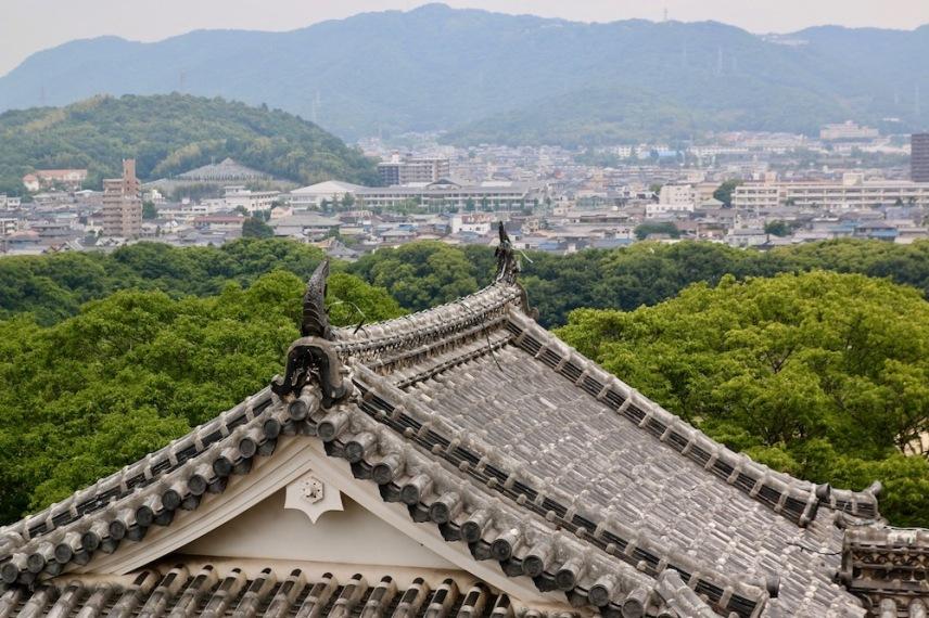 Поглед към град Химеджи