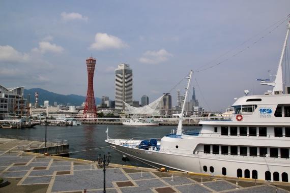 Пристанището на Кобе