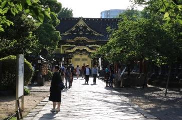 Храм в парка Уено