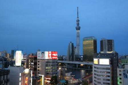 Кулата Небесното дърво на Токио