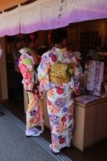 На шопинг с кимоно