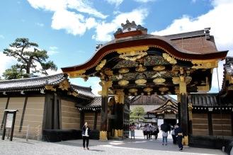 Главната порта на замъка Ниджо