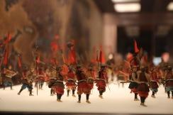 Макети на войници в замъка Осака