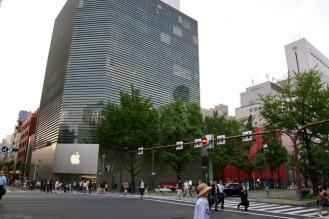 Магазина на Apple в Осака