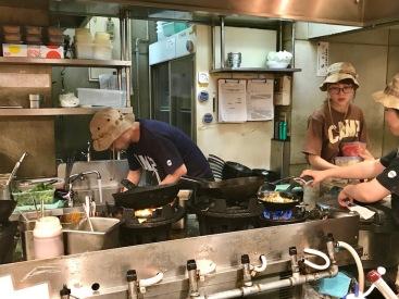 Готвачите на ресторант Camp