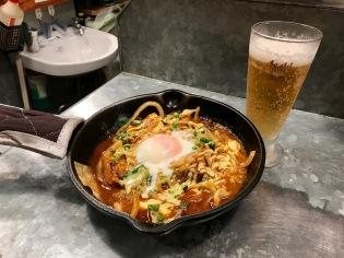 Окономияки, стил Осака в ресторант Camp