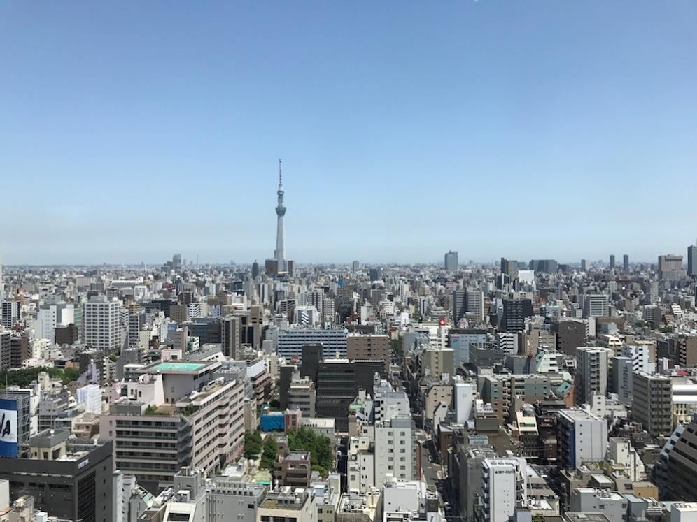 Токио и кулата Небесното дърво