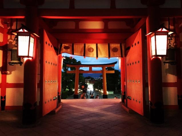 храма Фушими Инари Тайша
