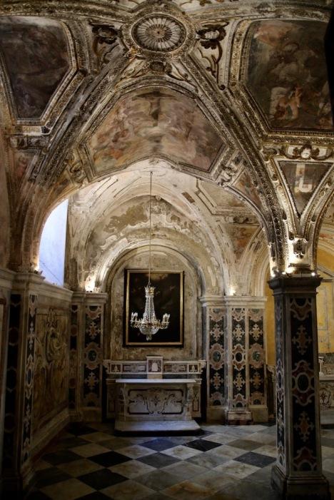 Криптата на катедралата Св.Андрей