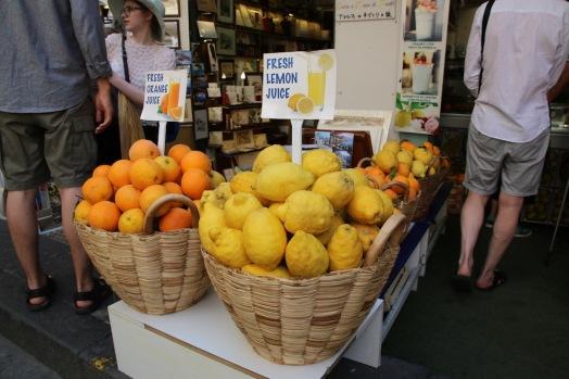 Лимонът е най-голямата звезда по крайбрежието на Амалфи
