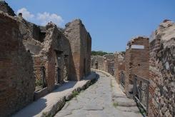 Из малките улици на Помпей.