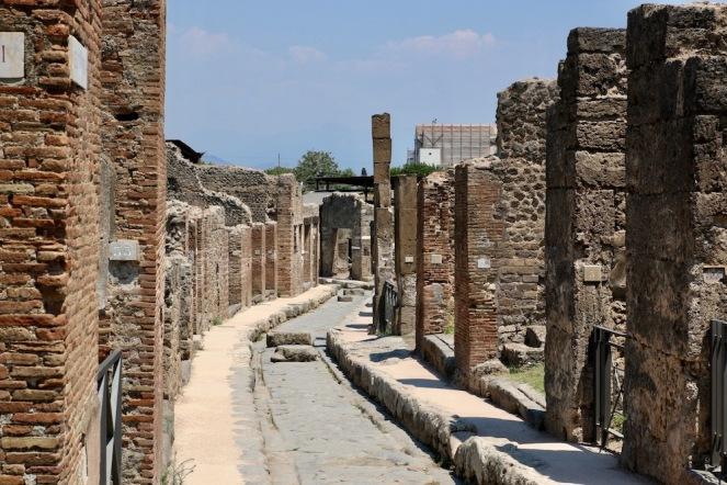 Канализацията на Помпей