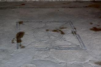 Мозайка в една от къщите