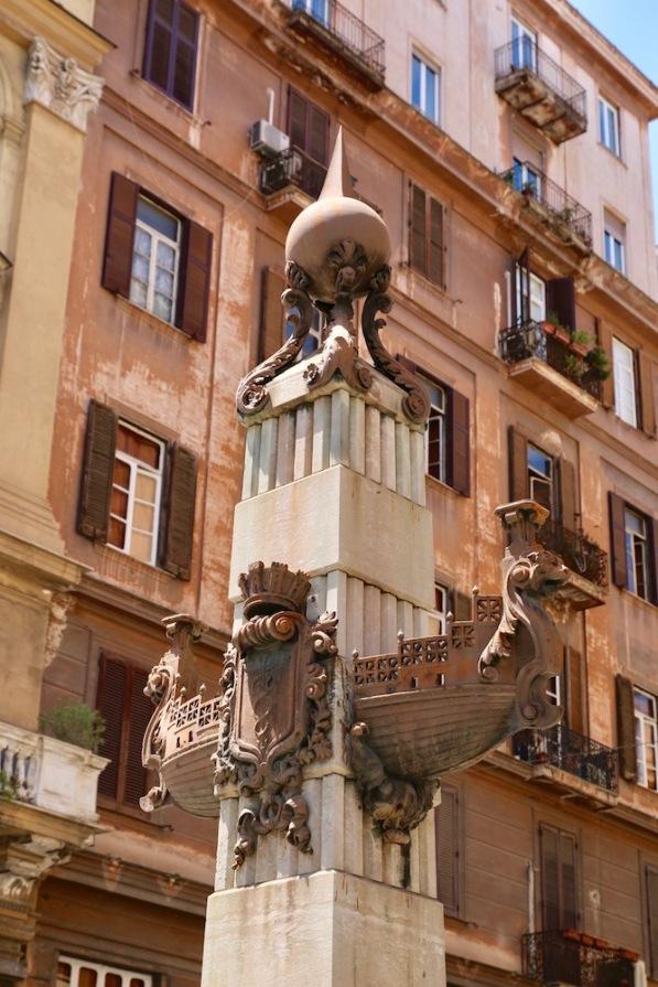 В центъра на Неапол.
