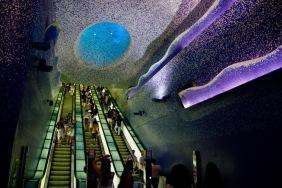 Спирка Толедо в метрото на Неапол