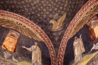 Мозайките в мавзолея на Гала Плачидия.