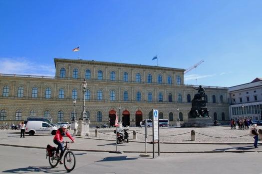 Фасадата на Мюнхенската резиденция.