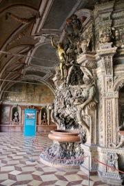Зала с морска тематика в Мюнхенската резиденция.