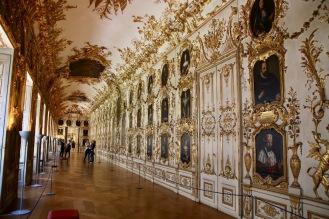 Галерията на предците в Мюнхенската резиденция.