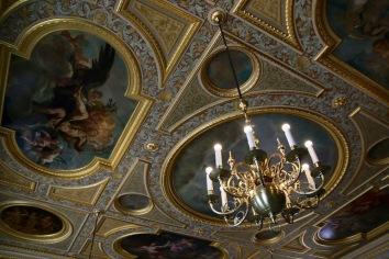 В една от залите на Мюнхенската резиденция.