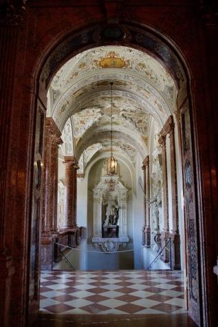 Императорското стълбище в Мюнхенската резиденция.